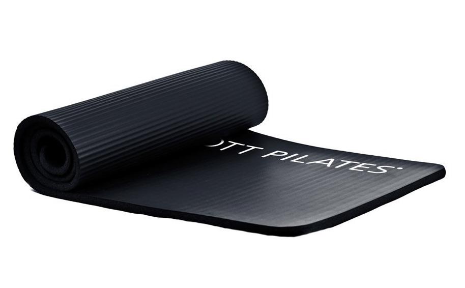 STOTT PILATES(ストットピラティス)STOTT PILATES Deluxe Pilates Mat (Graphite) 0.6 inch / 15 mm ヨガマット yoga