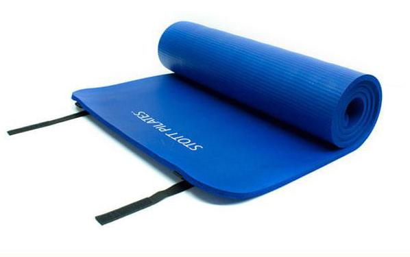 STOTT PILATES(ストットピラティス)エクスプレスマット<カラー:サファイア>(10mm) ヨガマット yoga