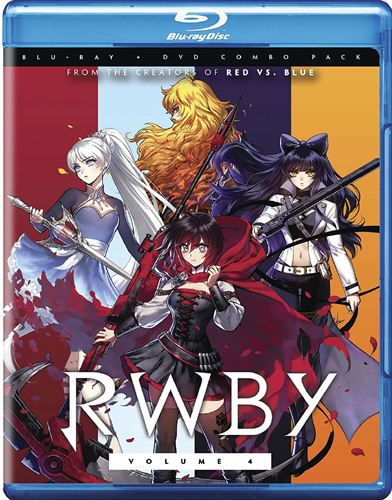 SALE OFF! Blu-ray for new North America! RWBY: Volume 4 [Blu-ray]!
