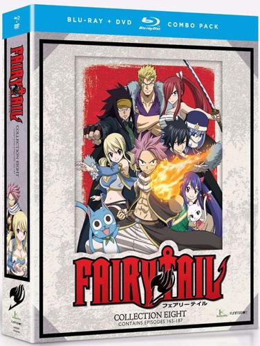 新品北米版Blu-ray! 【FAIRY TAIL(フェアリーテイル)】【コレクション8】(第165話~第187話)!