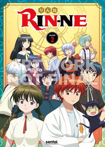 新品北米版DVD!【境界のRINNE 第2シリーズ】全話(第26話~第50話)