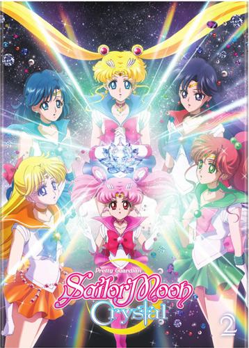 新品北米版DVD!【美少女戦士セーラームーンCrystal】【2】第15話~第26話!