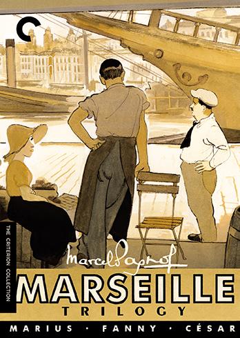 新品北米版DVD!The Marseille Trilogy: Criterion Collection!<マルセイユ・トリロジー(『マリウス』『ファニー』『セザール』)>
