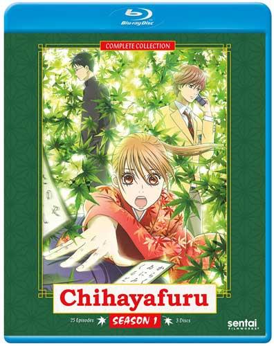 新品北米版Blu-ray!【ちはやふる(第1期)】全25話!
