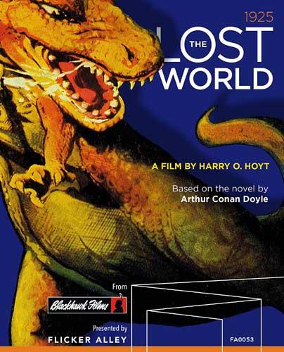 新品北米版Blu-ray!【ロスト・ワールド】 The Lost World [Blu-ray]!<「R.F.D.10,000 B.C.」「The Ghost of Slumber Mountain」「Creation」も収録>