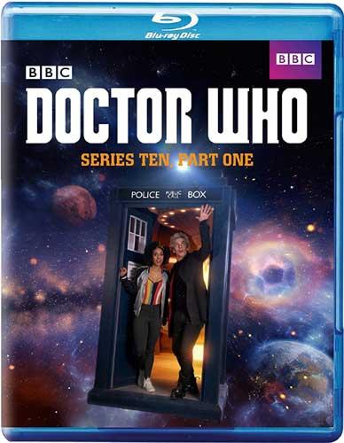 新品北米版Blu-ray!【ドクター・フー:シリーズ10 パート1】 Doctor Who: Series Ten, Part One [Blu-ray]!