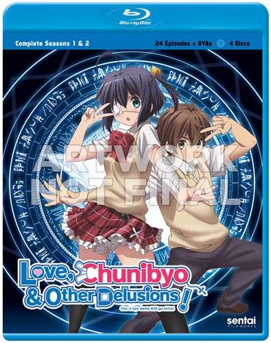 新品北米版Blu-ray!『中二病でも恋がしたい(第1期)全13話』『中二病でも恋がしたい!戀(第2期)全12話』
