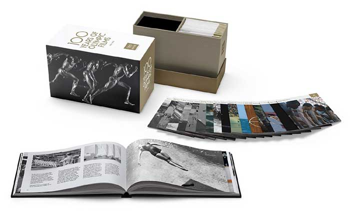 新品北米版DVD!100 Years of Olympic Films (The Criterion Collection) [Blu-ray]!<国際オリンピック委員会監修 オリンピック映画修復プロジェクト><DVD43枚 豪華盤>