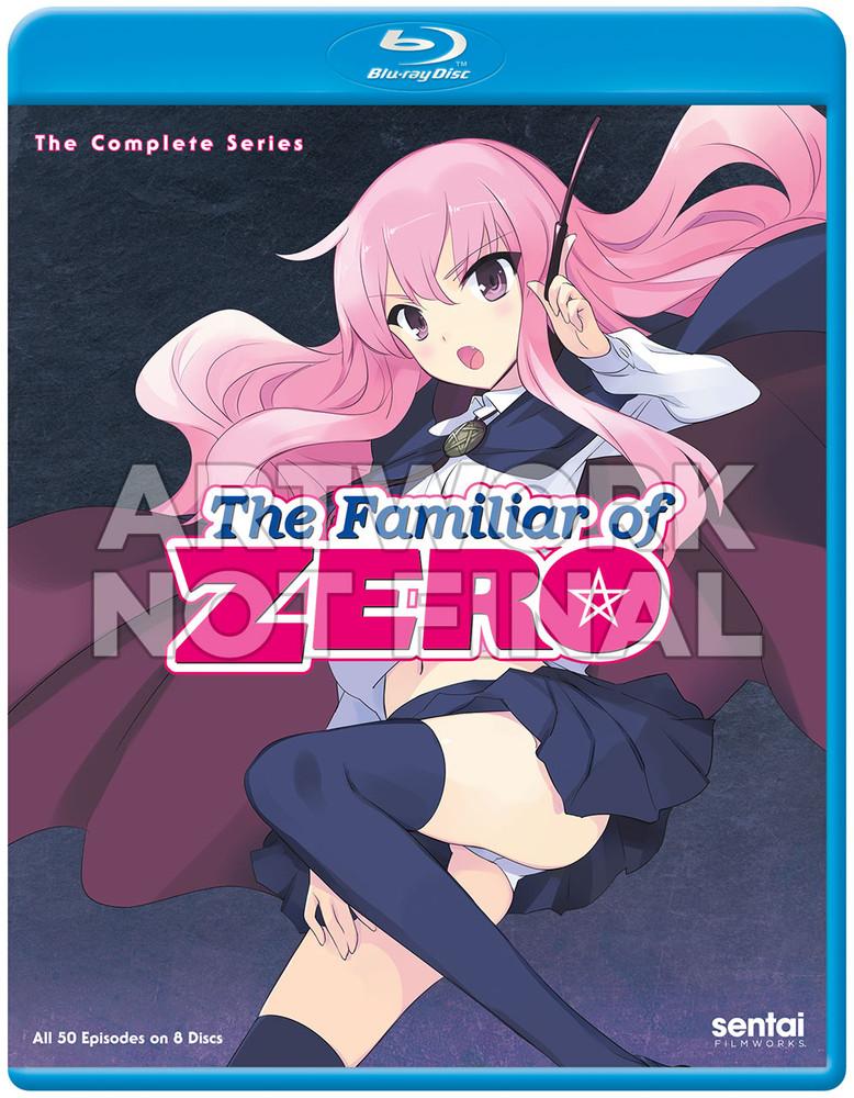 新品北米版Blu-ray!『ゼロの使い魔(第1期)全13話』『ゼロの使い魔 双月の騎士(第2期)】全12話』『ゼロの使い魔 三美姫の輪舞(第3期)全12話』『ゼロの使い魔F(第4期)全12話』
