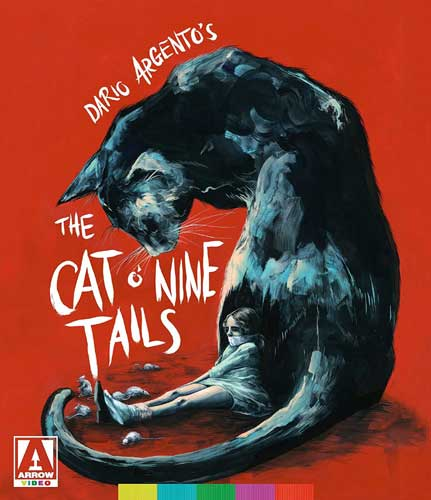 新品北米版Blu-ray!【わたしは目撃者】 The Cat O' Nine Tails Limited Edition [Blu-ray/DVD]!<ダリオ・アルジェント監督作品>