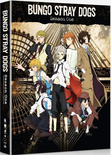 新品北米版Blu-ray!【文豪ストレイドッグス 第1期】全12話!<限定盤>