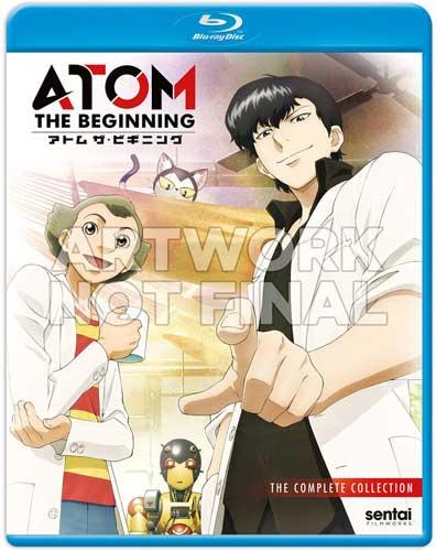 新品北米版Blu-ray!【アトム ザ・ビギニング】全12話