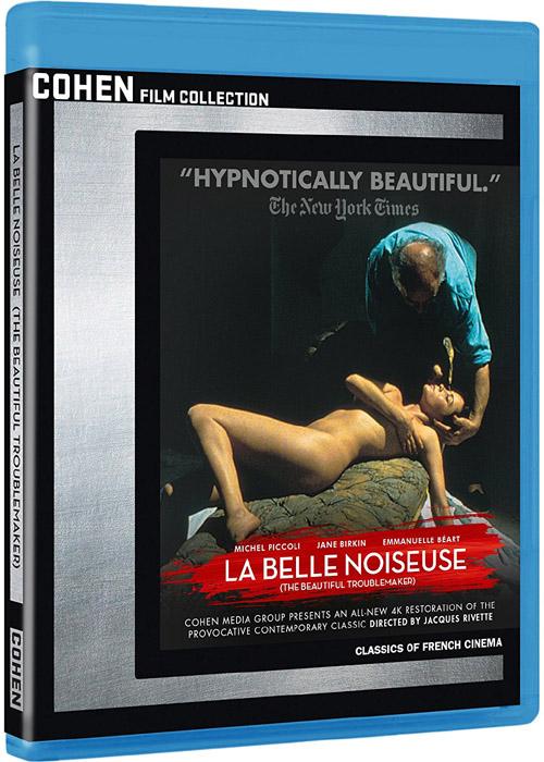 新品北米版Blu-ray!【美しき諍い女(いさかいめ)】 Beautiful Troublemaker (La Belle Noiseuse) [Blu-ray]!<ジャック・リヴェット監督作品>