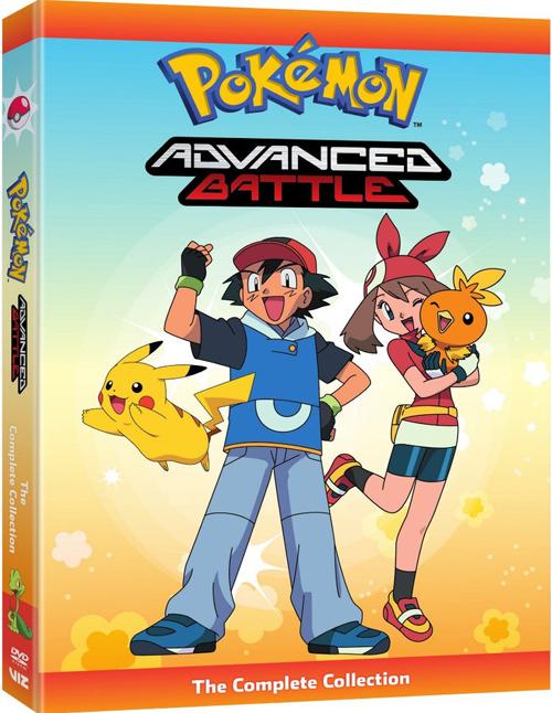 新品北米版DVD!【ポケモン/ポケットモンスター】 Pokemon Advanced Battle Complete Collection!<英語音声>
