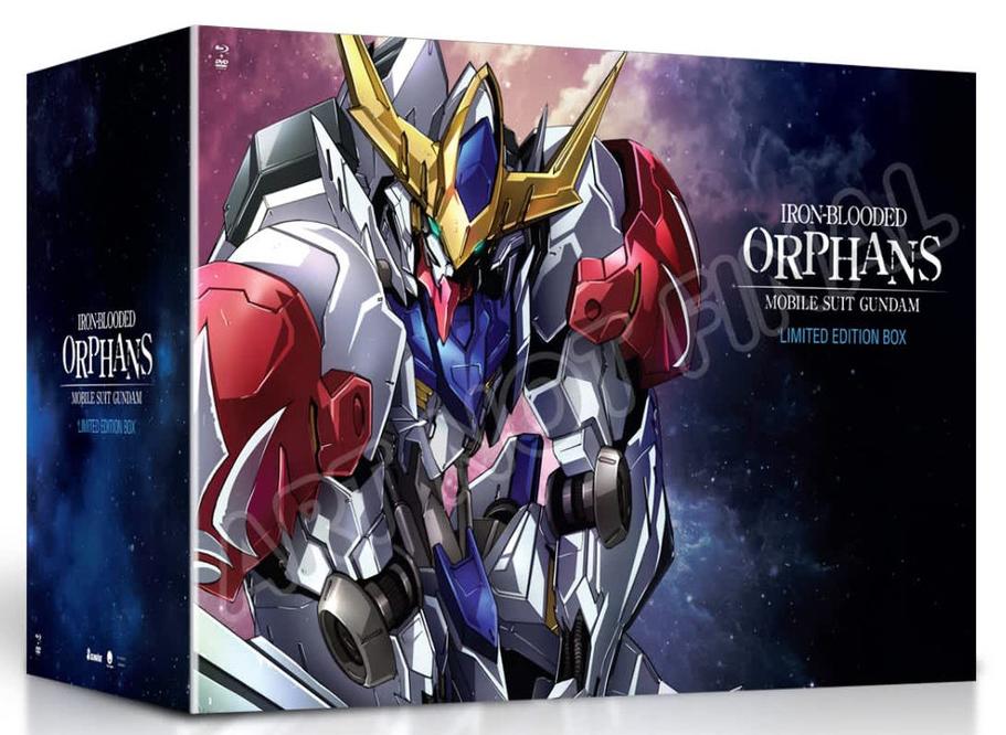 新品北米版Blu-ray!【機動戦士ガンダム 鉄血のオルフェンズ 弐(第2期)】全25話<限定盤>