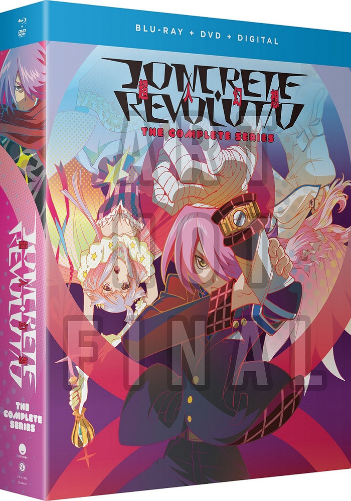 新品北米版Blu-ray!【コンクリート・レボルティオ 超人幻想】全12話!