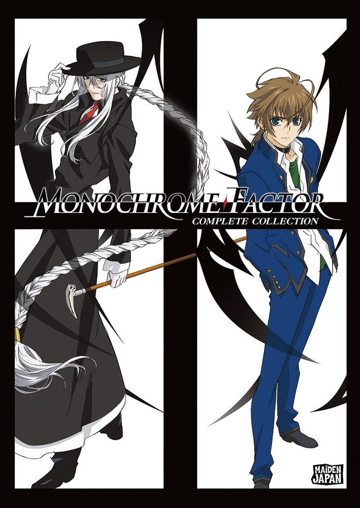 新品北米版DVD!【モノクローム・ファクター】全24話