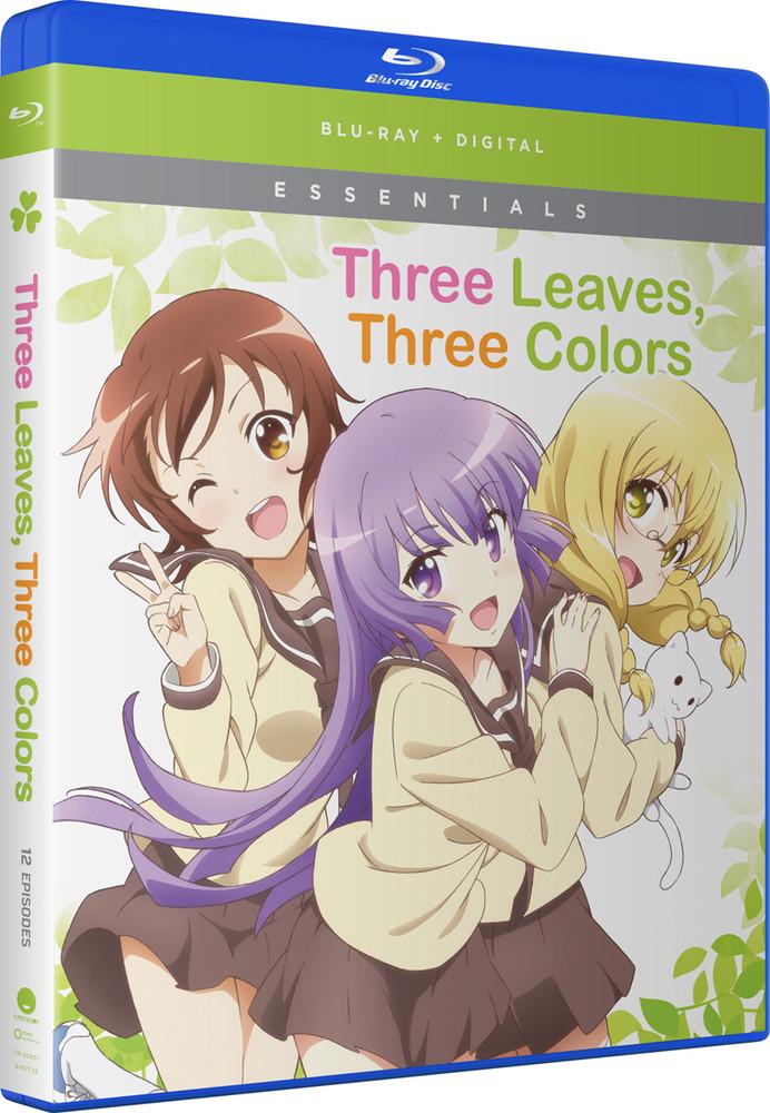 新品北米版Blu-ray!【三者三葉】全12話