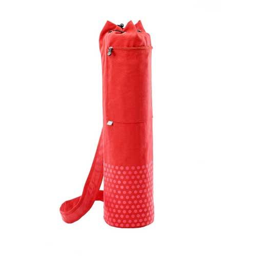 STOTT PILATES(ストットピラティス)Pilates & Yoga Canvas Mat Bag (Red)<ヨガキャンバスマットバッグ(レッド)>(70cm) ヨガマットバッグ yoga