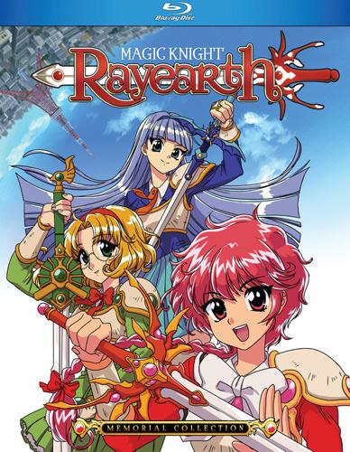 新品北米版Blu-ray!【魔法騎士レイアース】全49話!