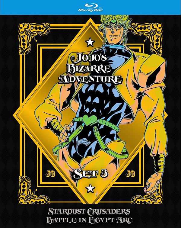 新品北米版Blu-ray!【ジョジョの奇妙な冒険(スターダストクルセイダース)(第2期)】【2】第24話~最終第48話
