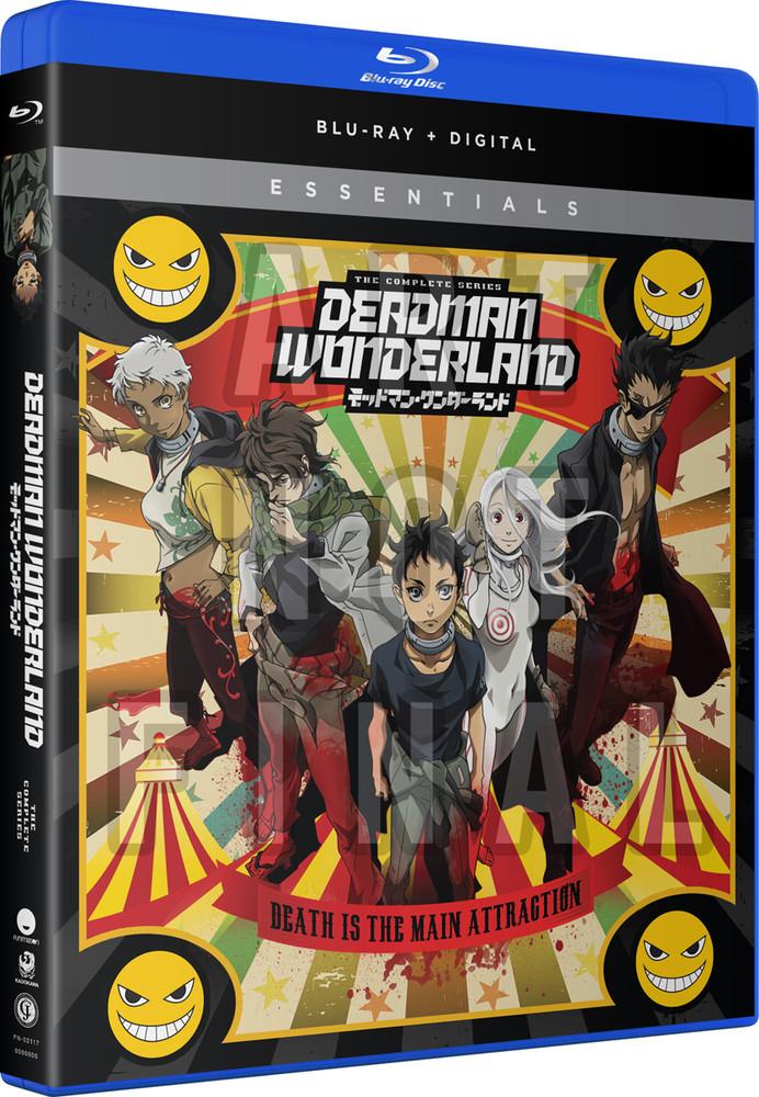 新品北米版Blu-ray!デッドマン・ワンダーランド 全12話+『赤いナイフ使い』(OVA)