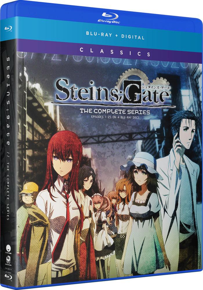 新品北米版Blu raySTEINS;GATE全24話8wvmNn0