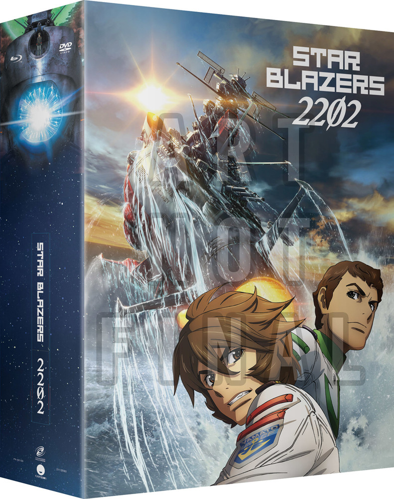 ■予約■新品北米版Blu-ray!【宇宙戦艦ヤマト2202 愛の戦士たち】【1】第1話~第13話<限定盤>