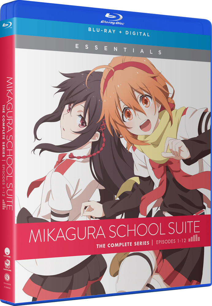 <新入荷続々> 新品北米版Blu-ray!【ミカグラ学園組曲】全12話