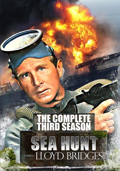 新品北米版DVD!【潜水王マイク・ネルソン コンプリートシーズン1,2,3,4】 Sea Hunt: The Complete Series!