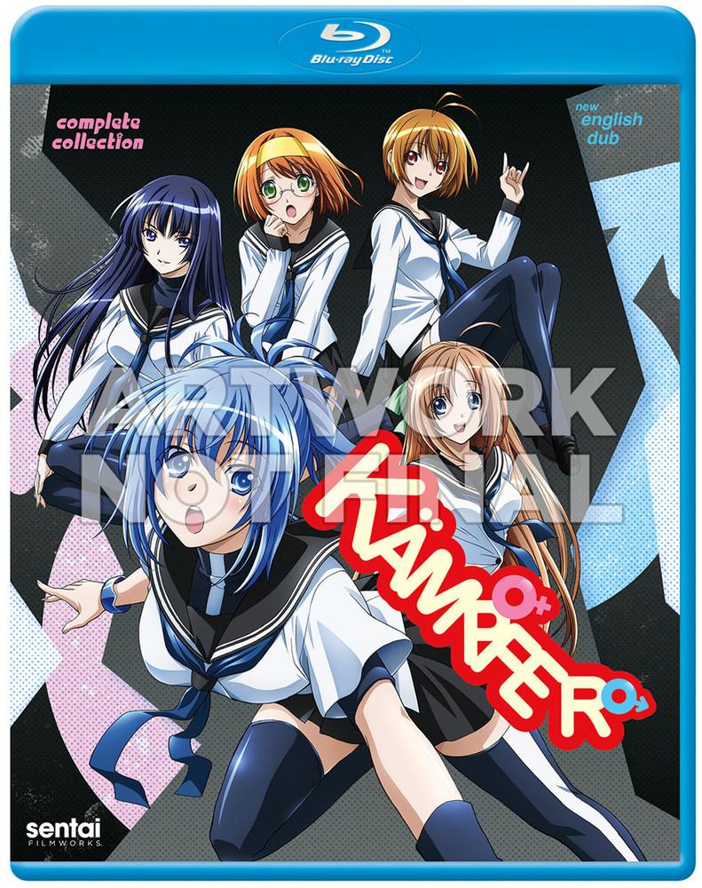 新品北米版Blu-ray!『けんぷファー 全12話』+『けんぷファー フュア ディ リーヴェ 全2話』