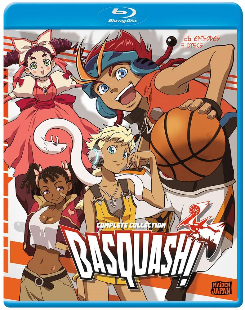 新品北米版Blu-ray!【バスカッシュ!】 全26話!