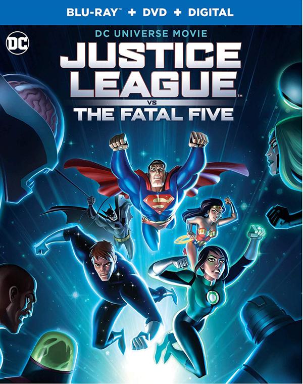 新品北米版Blu-ray!【ジャスティス・リーグ VS. フェイタル・ファイブ】 Justice League vs. The Fatal Five [Blu-ray/DVD]!:RGB DVD STORE/SPORTS&CULTURE