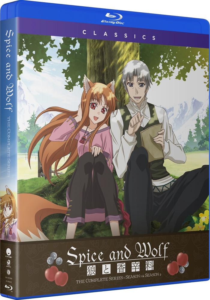 ■予約■新品北米版Blu-ray!【狼と香辛料】第1期 全13話+第2期 全13話!