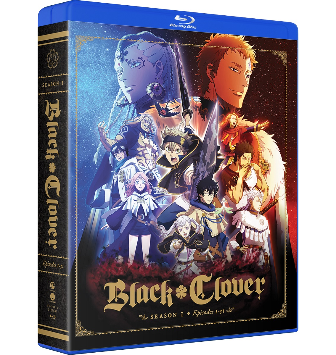 ■予約■新品北米版Blu-ray!【ブラッククローバー 第1期】全51話!