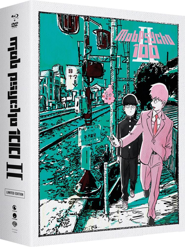 ■予約■新品北米版Blu-ray!【モブサイコ100 II(第2期)】 全13話!<限定盤>