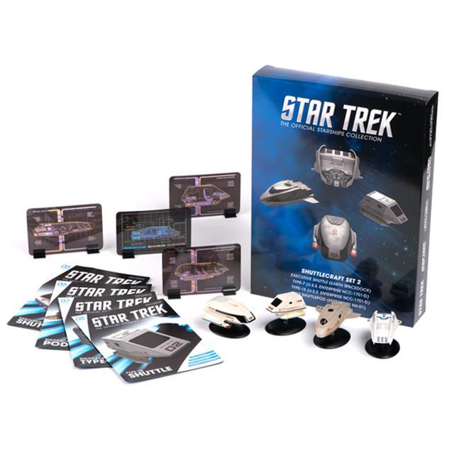 Star Trek Shuttle Set 2 <イーグルモス『スタートレック』公式スターシップコレクション>
