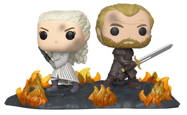 [FUNKO(ファンコ)] FUNKO POP! MOMENT: Game of Thrones - Daenerys & Jorah B2B w/ Swords <ゲーム・オブ・スローンズ>
