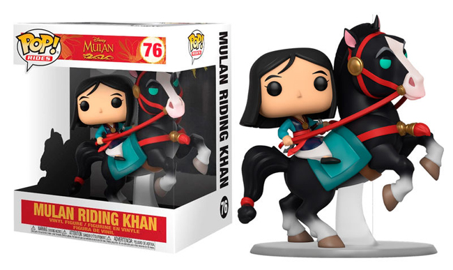 ■予約■[FUNKO(ファンコ)] FUNKO POP! RIDES: Mulan - Mulan on Khan <ムーラン/ディズニー>