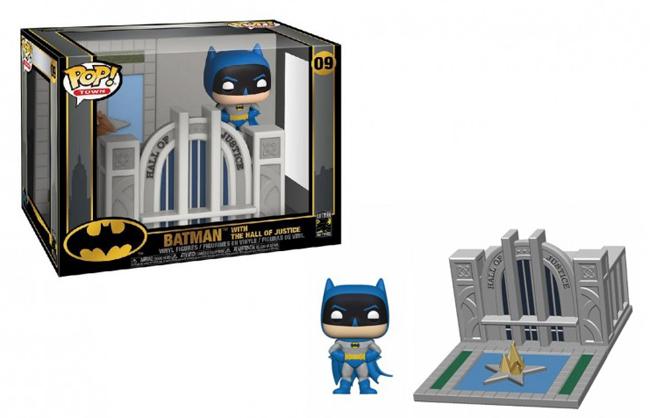 ■予約■[FUNKO(ファンコ)] FUNKO POP! TOWN: Batman 80th - Hall of Justice w/ Batman <バットマン80周年>