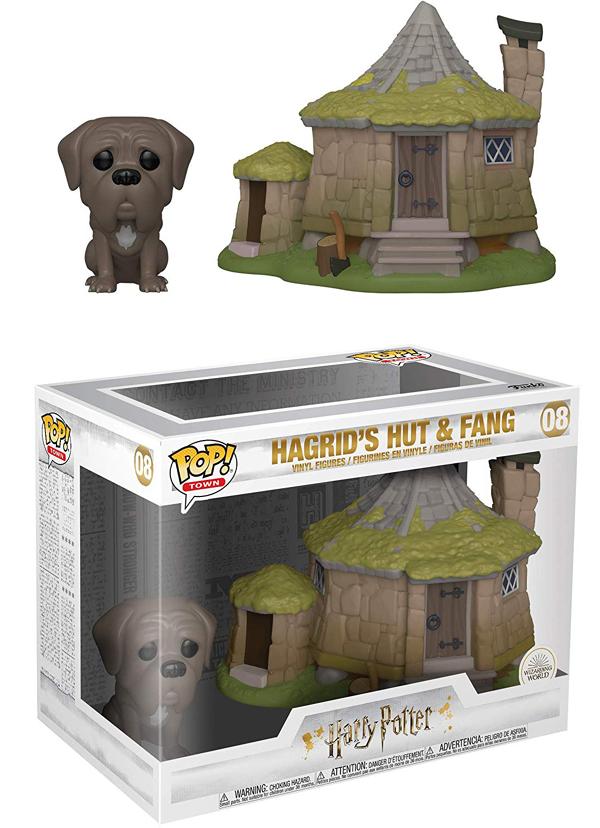 [FUNKO(ファンコ)] FUNKO POP! TOWN: Harry Potter - Hagrid's Hut w/ Fang <ハリー・ポッター>