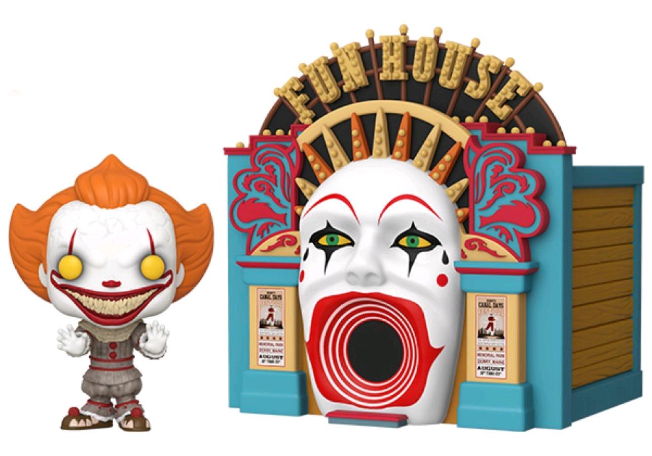 ■予約■[FUNKO(ファンコ)] FUNKO POP! TOWN: IT 2 - Pennywise w/ Funhouse <IT 2/イット 2>