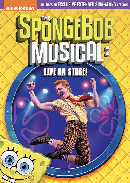 新入荷続々 新品北米版DVD スポンジ 倉 ボブ:ブロードウェイミュージカル SpongeBob SquarePants: on Musical Stage The 安い 激安 プチプラ 高品質 - Live