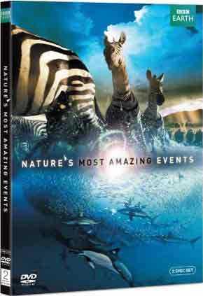 新品北米版DVD!Nature's Most Amazing Events [2 Discs]