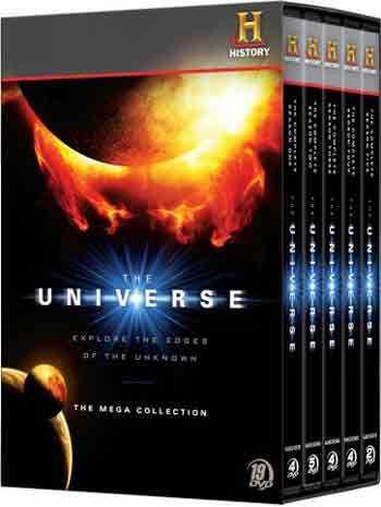 新品北米版DVD!【ザ・ユニバース~宇宙の歴史~ 完全版 19枚組DVD BOX】The Universe Mega Collection DVD SET (19 Discs)