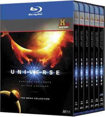 新品北米版Blu-ray!【ザ・ユニバース~宇宙の歴史~ 完全版 16枚組Blu-ray BOX】The Universe Mega Collection SET (16 Discs) (Blu-ray)