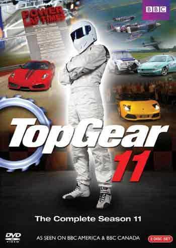 新品北米版DVD!Top Gear(トップ・ギア): The Complete Season 11 [2 Discs]!