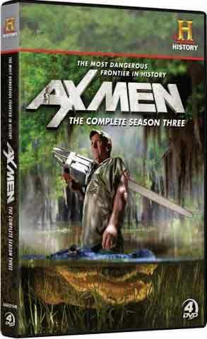 新品北米版DVD!【アックス・メン】Ax Men: The Complete Season Three [4 Discs]