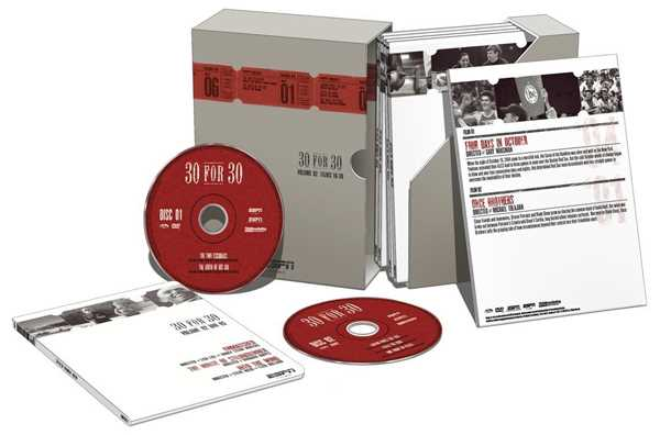 新品DVD!ESPN Films 30 for 30 Gift Set Collection, Volume 2!