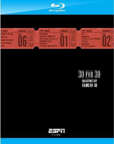 新品Blu-ray!ESPN 30 for 30 Collector's Set [Blu-ray]!